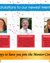 Congratulations to the 2020 selected Mentor Fellows