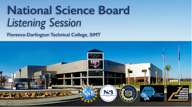 NSF's National Science Board to hold next skilled technical workforce listening session in South Carolina